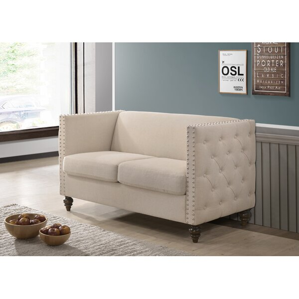 Shop For Stylishly Selected Gianni Loveseat by Charlton Home by Charlton Home