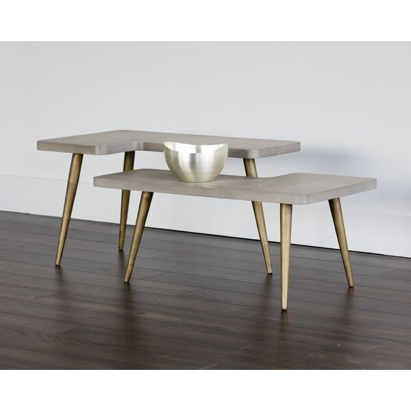 Sotelo 2 Piece Coffee Table Set by Everly Quinn Everly Quinn