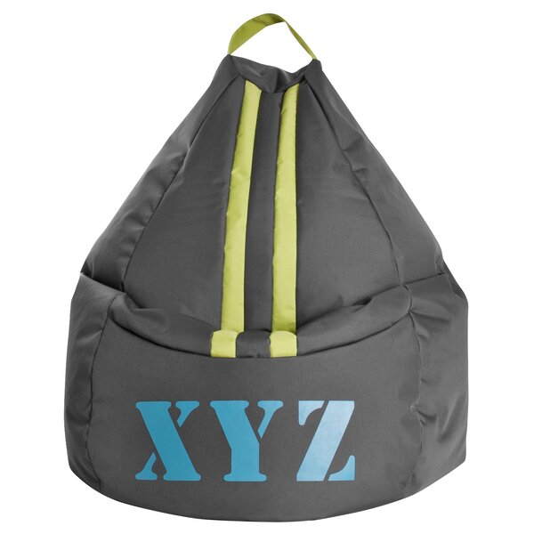 XYZ Bean Bag Chair by Ebern Designs