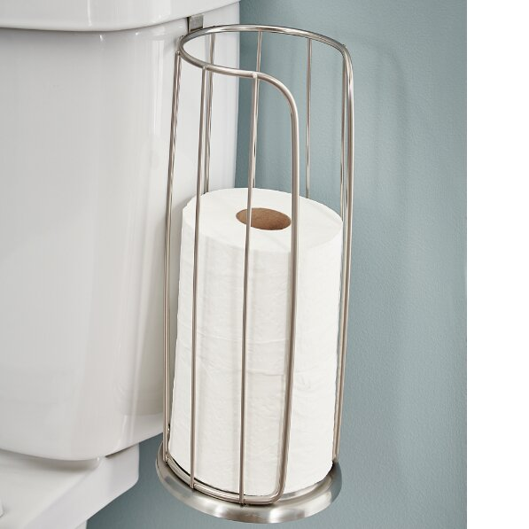 Over-the-Tank Mount Toilet Paper Holder