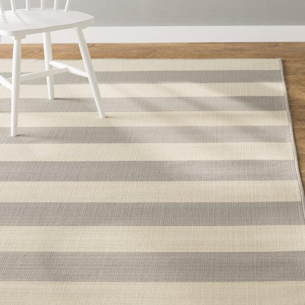 Alford Grey/Ivory Indoor/Outdoor Area Rug by Andover Mills
