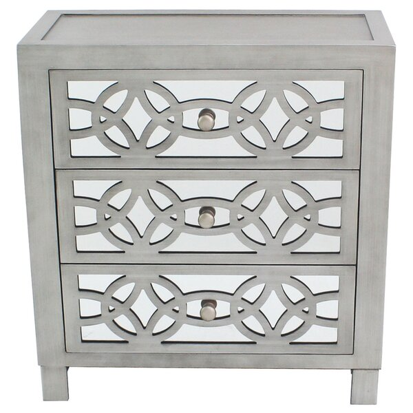 Karratha 3 Drawer Accent Chest by Willa Arlo Inter