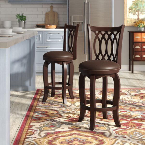 Slye 27 Swivel Bar Stool by Darby Home Co