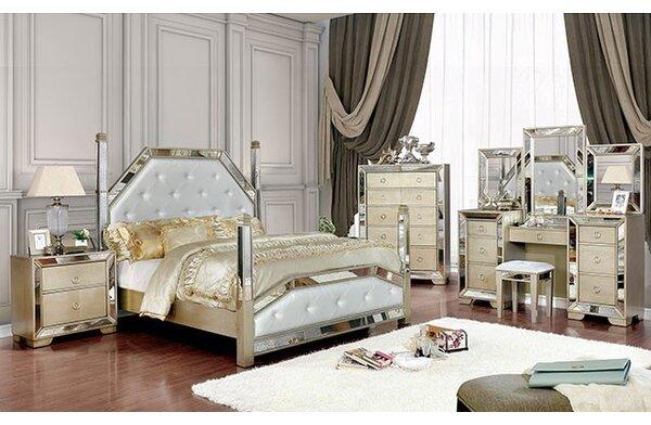 Susann Upholstered Standard Configurable Bedroom Set by House of Hampton
