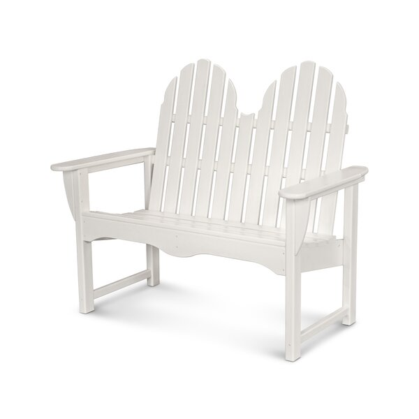 Classic Adirondack Garden Bench By POLYWOOD® by POLYWOOD® Best Choices