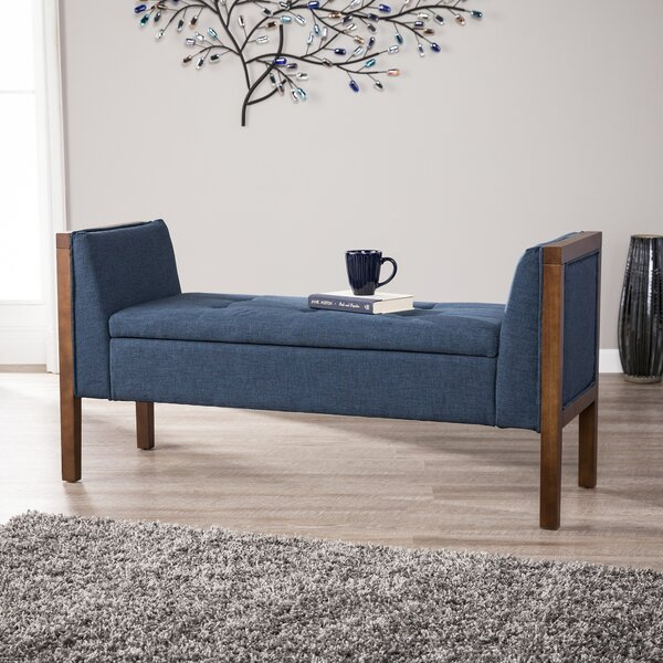 Kegler Storage Upholstered Bench by Charlton Home