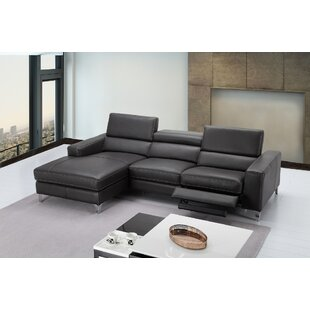 Carrolltown Leather Reclining Sectional