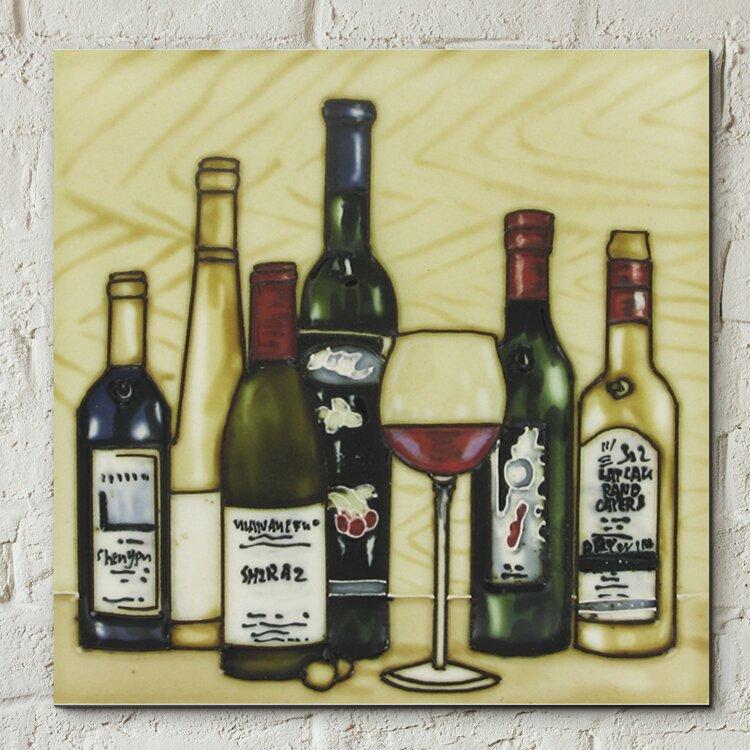 Castleton home wanddekoration vintage wine selection for Wanddekoration vintage