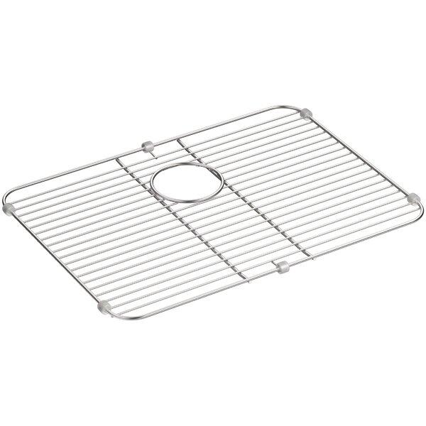 Stainless Steel Sink Rack, 21-1/8 x 15-3/4 for K-3325-Na, K-3332-Na Undertone and K-3325-Hcf Undertone Preserve Sinks by Kohler
