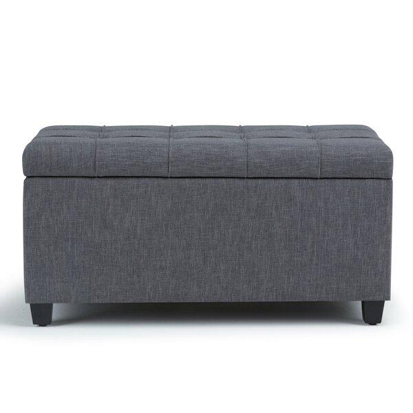 Burkholder Upholstered Storage Bench by Charlton Home