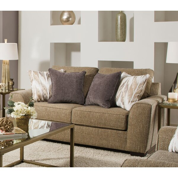 Best Offer Dallin Loveseat by Simmons Upholstery by Zipcode Design by Zipcode Design