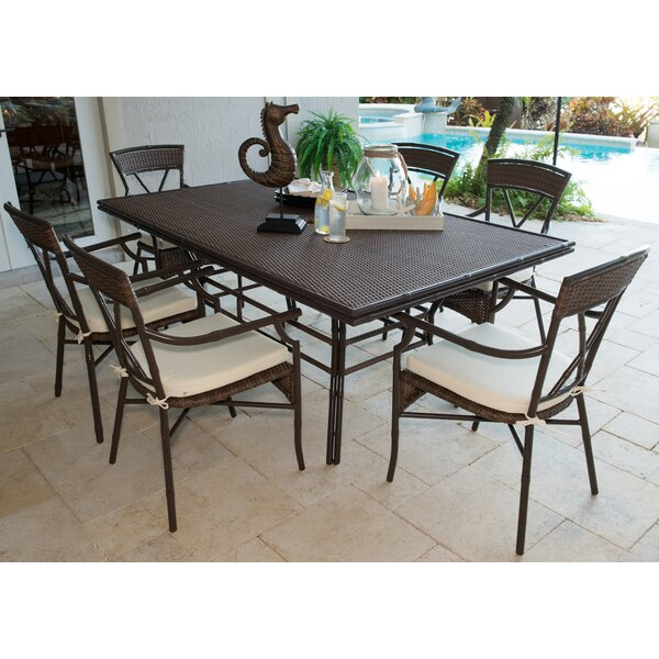 Rum Cay 7 Piece Dining Set by Panama Jack Outdoor
