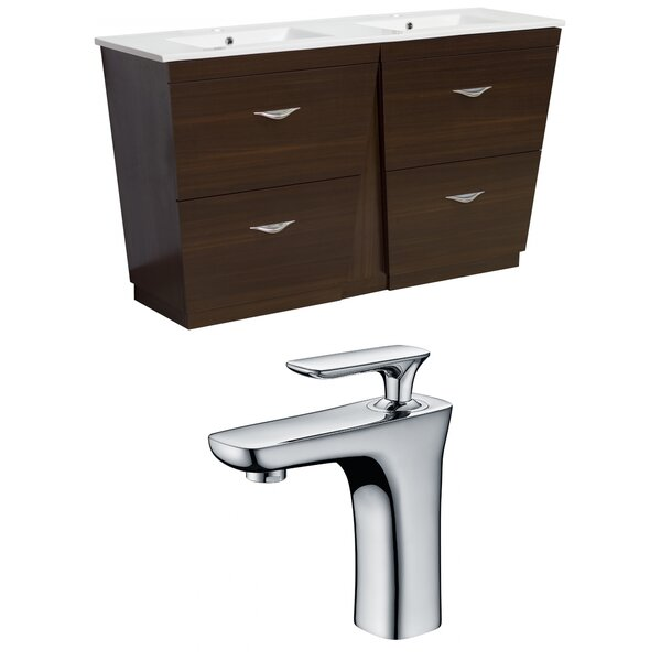 Dudelange 48 Double Bathroom Vanity Set by Royal Purple Bath Kitchen