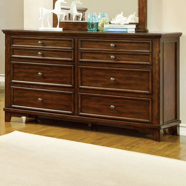 Branden 6 Drawer Double Dresser by Hokku Designs