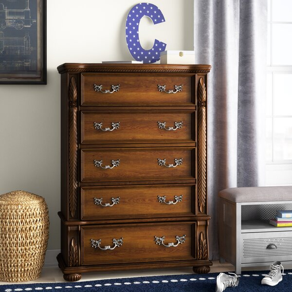 Lannisten 5 Drawer Chest by Hokku Designs Hokku Designs