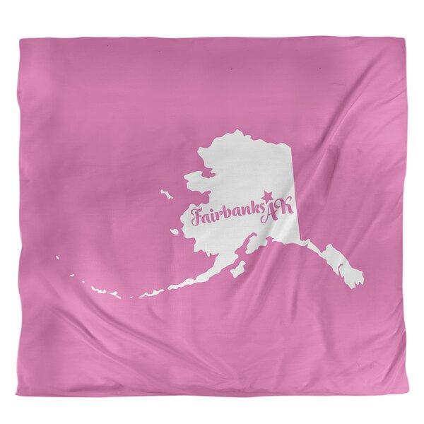 Fairbanks Alaska Duvet Cover