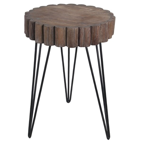 Olivet End Table by Union Rustic