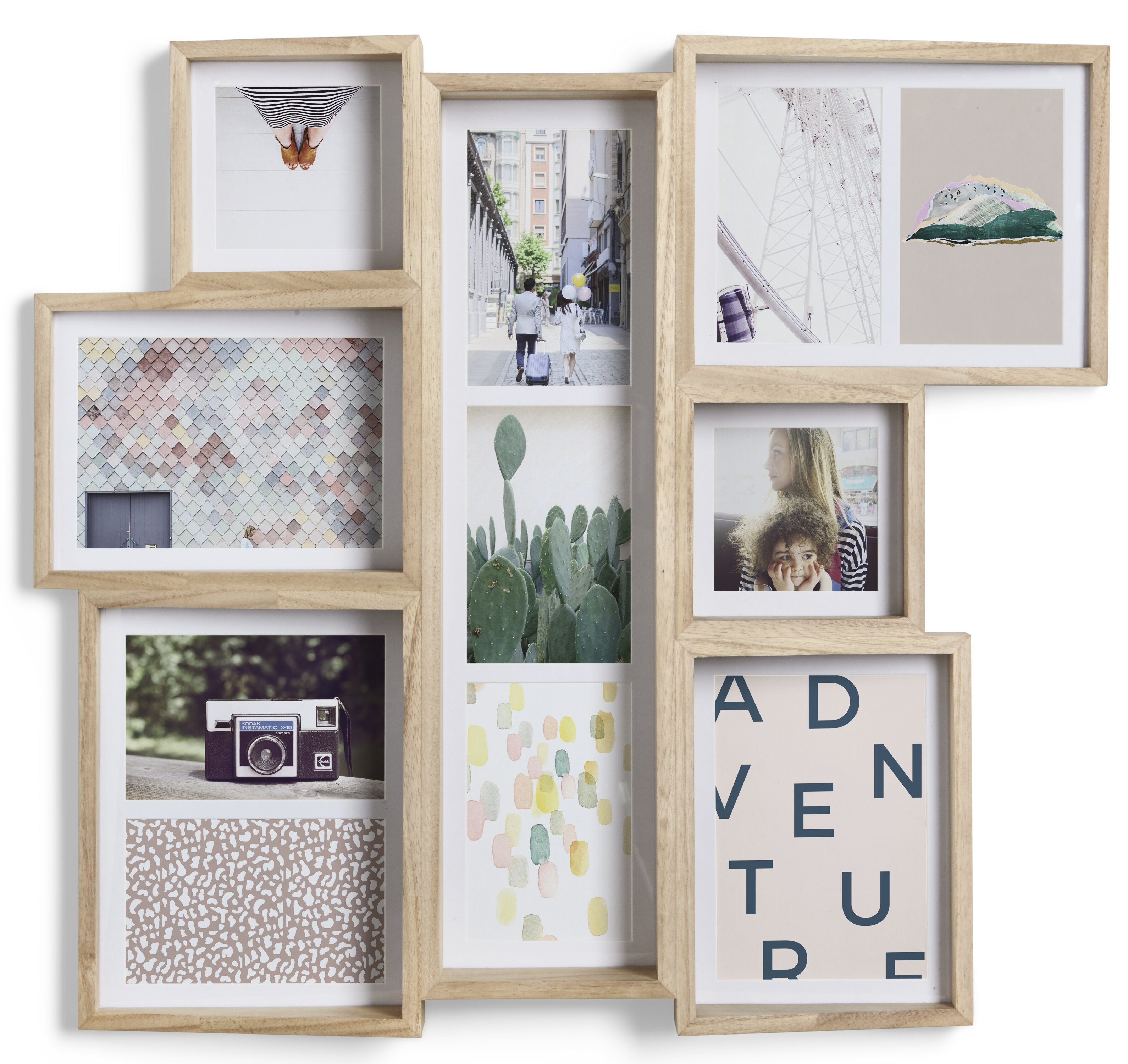 Edge 7 Opening Collage Wall Picture Frame & Reviews | AllModern