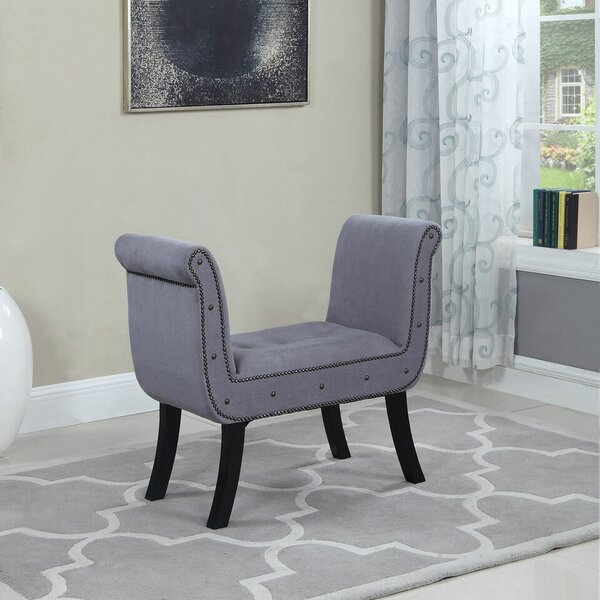 Collin Upholstered Bench by House of Hampton