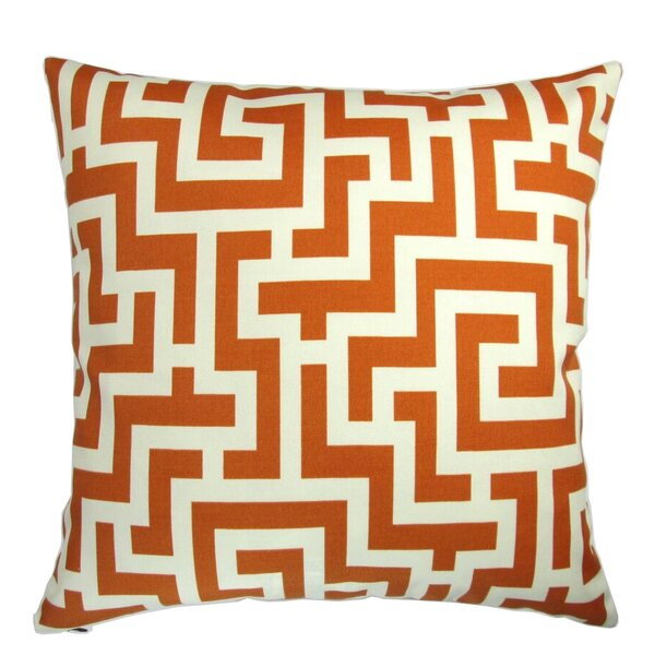Gration Modern Garden Maze Indoor/Outdoor Pillow by Brayden Studio