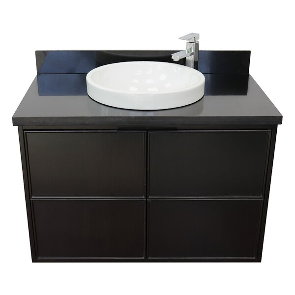 Elford 37 Wall-Mounted Single Bathroom Vanity Set by Gracie Oaks