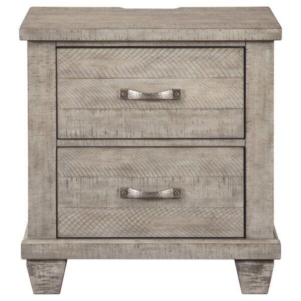 Danyal 2 Drawer Nightstand by Gracie Oaks