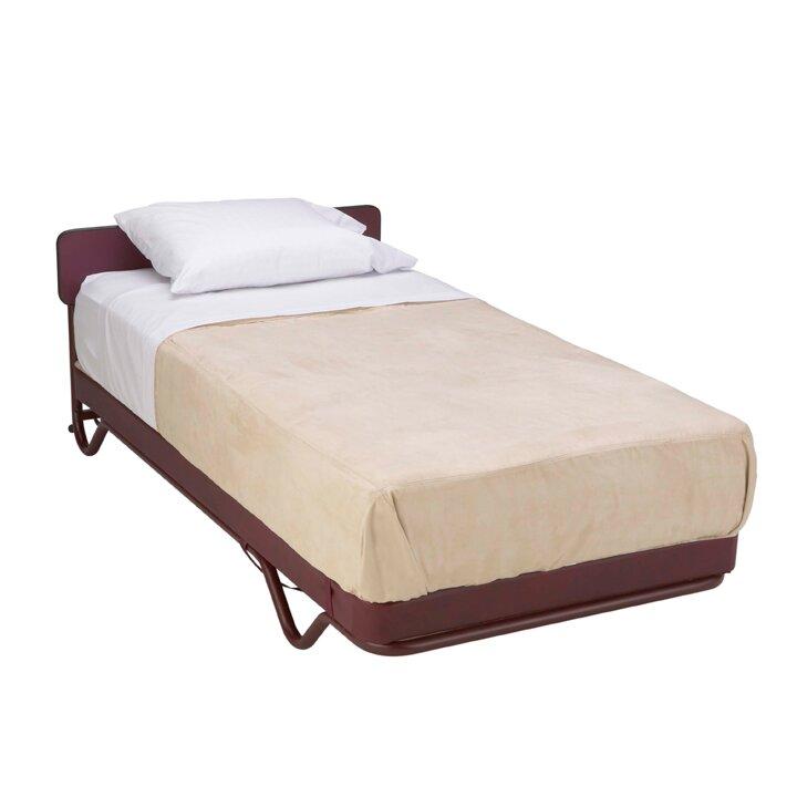 Alwyn Home Mobile Adjustable Bed Base and mattress | Wayfair