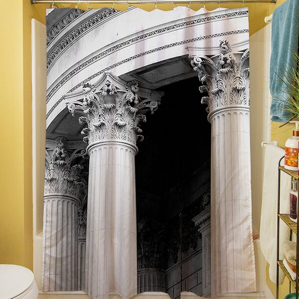 A Travers Paris III Shower Curtain by Manual Woodworkers & Weavers