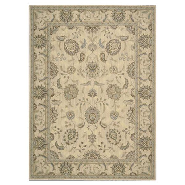 Dowdell Ivory Area Rug by Charlton Home