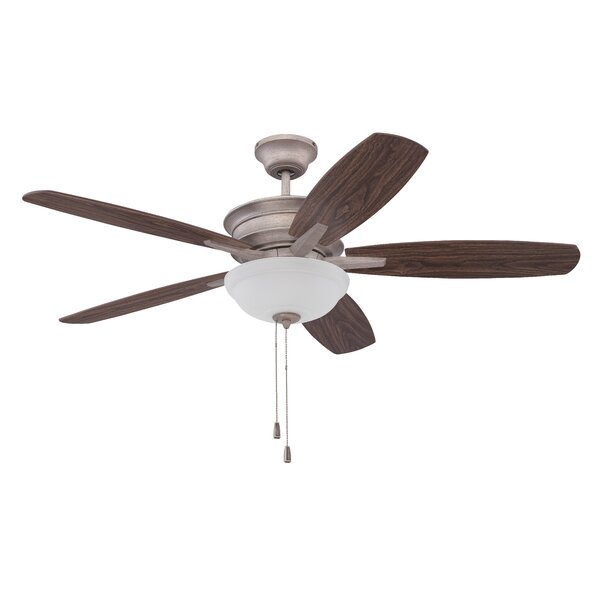 52 Elizabethville 5-Blade Ceiling Fan by Red Barrel Studio