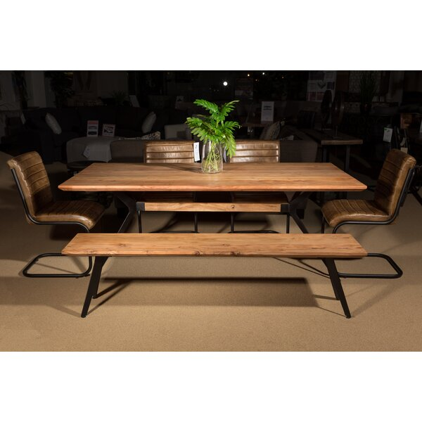 Buenrostro Wood Bench by Union Rustic