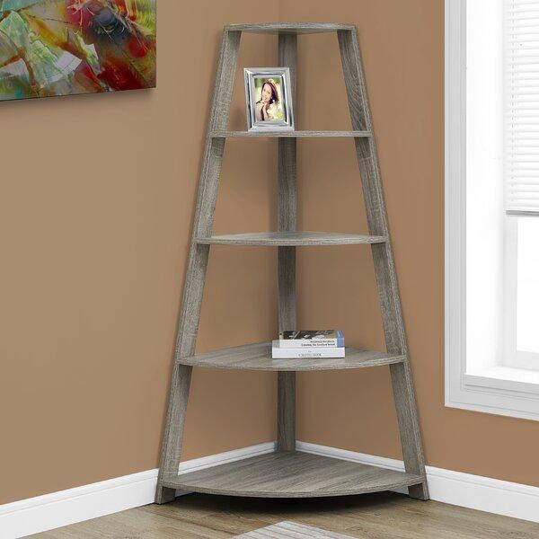 Belcher Corner Bookcase by Monarch Specialties Inc.