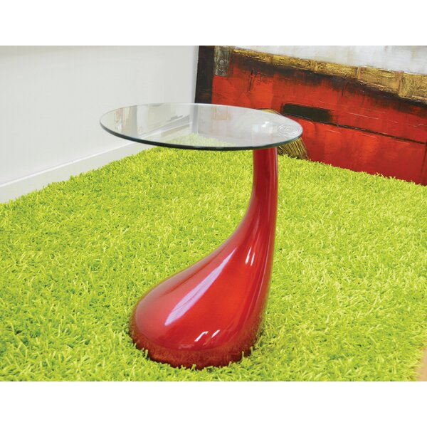 Depaul Tear Drop End Table by Orren Ellis