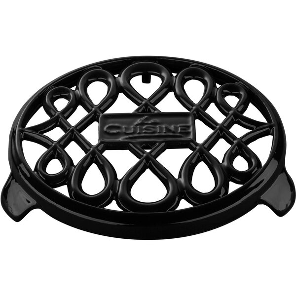 Round Cast Iron Trivet by La Cuisine