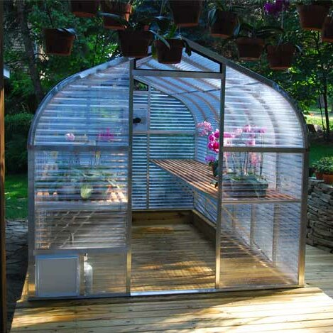 7.5 Ft. W x 12.5 Ft. D Greenhouse by Sunglo Greenhouses