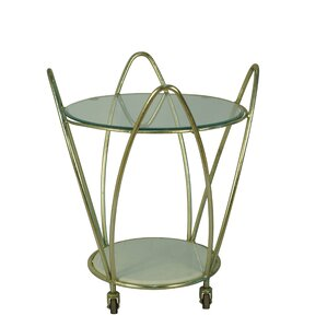 Orwell Metal Arch Bar Cart by Latitude Run