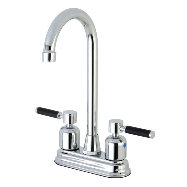 Kaiser Centerset High-Arch Spout Bar Faucet by Kingston Brass