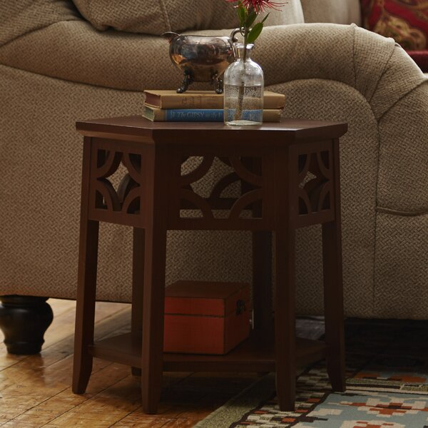 Shirlee End Table by World Menagerie