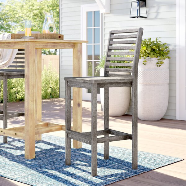 Manchester 32.5-inch Patio Bar Stool By Sol 72 Outdoor