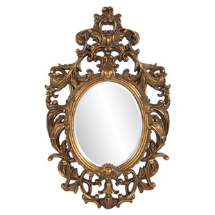 Astoria Grand Oval Framed Wall Mirror