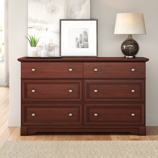 Walworth 6-Drawer Double Dresser by Three Posts