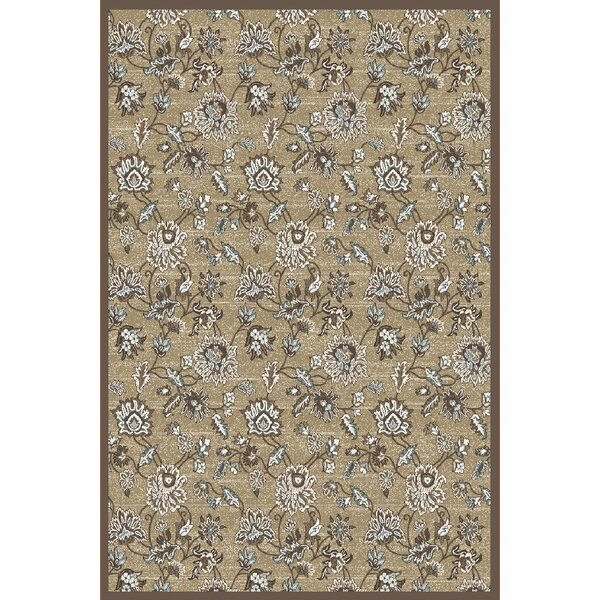Ackermanville Beige Area Rug by Charlton Home