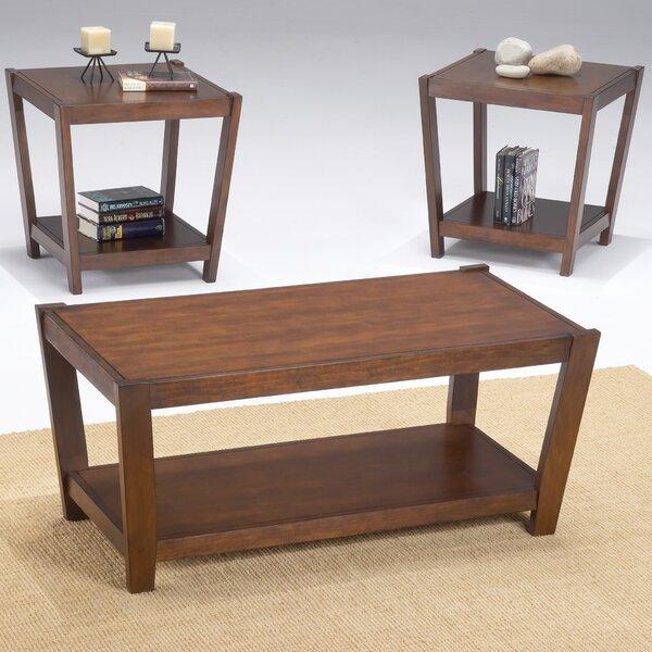 Sabre 3 Piece Coffee Table Set by Bernards