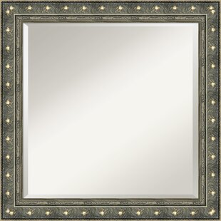 Astoria Grand Square Champagne/Pewter Mirror