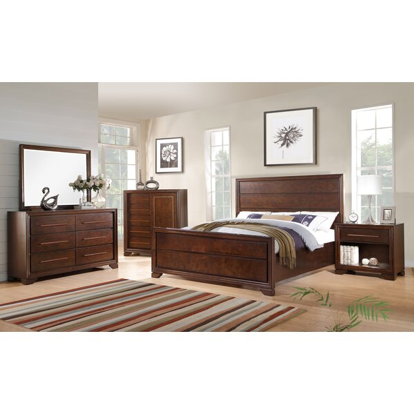 Catania Panel Bed by Fairfax Home Collections