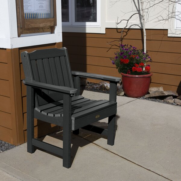 Lianna Commercial Grade Patio Dining Chair by Highland Dunes