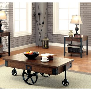 Vidur Industrial Coffee Table 17 Stories Wonderful