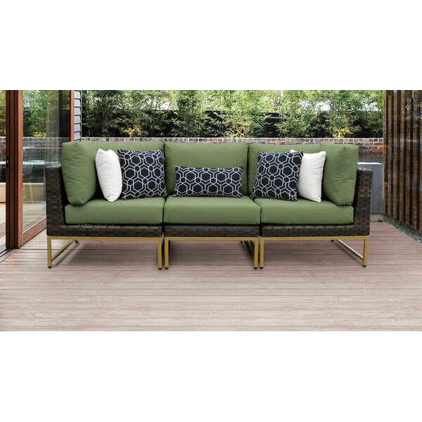 Mcclurg Patio Sectional with Cushions by Darby Home Co
