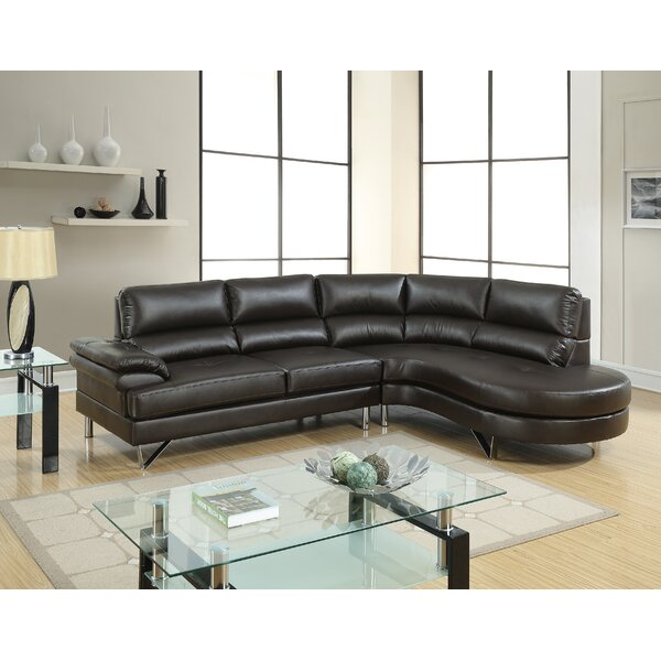 Mullica Right Hand Facing Sectional By Orren Ellis