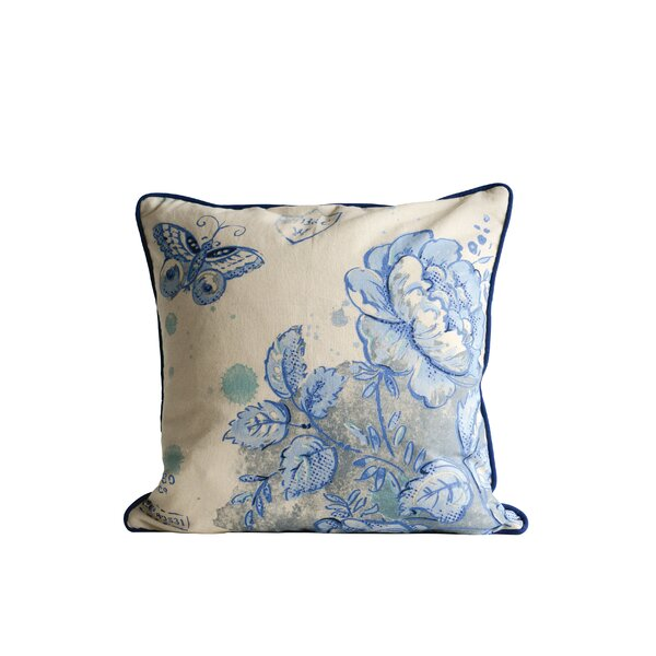 Rife Cotton Throw Pillow by Charlton Home